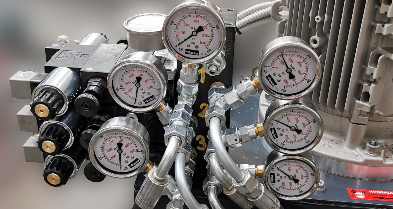 Modernizacja agregatu hydraulicznego